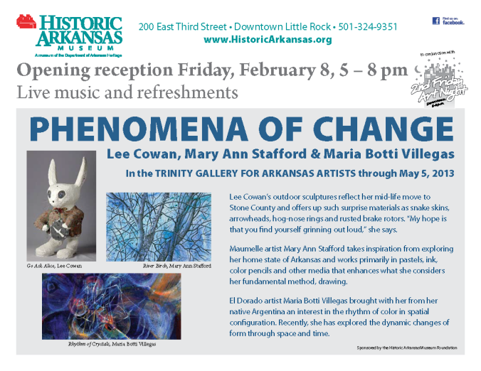 flyer for artists Feb 2013