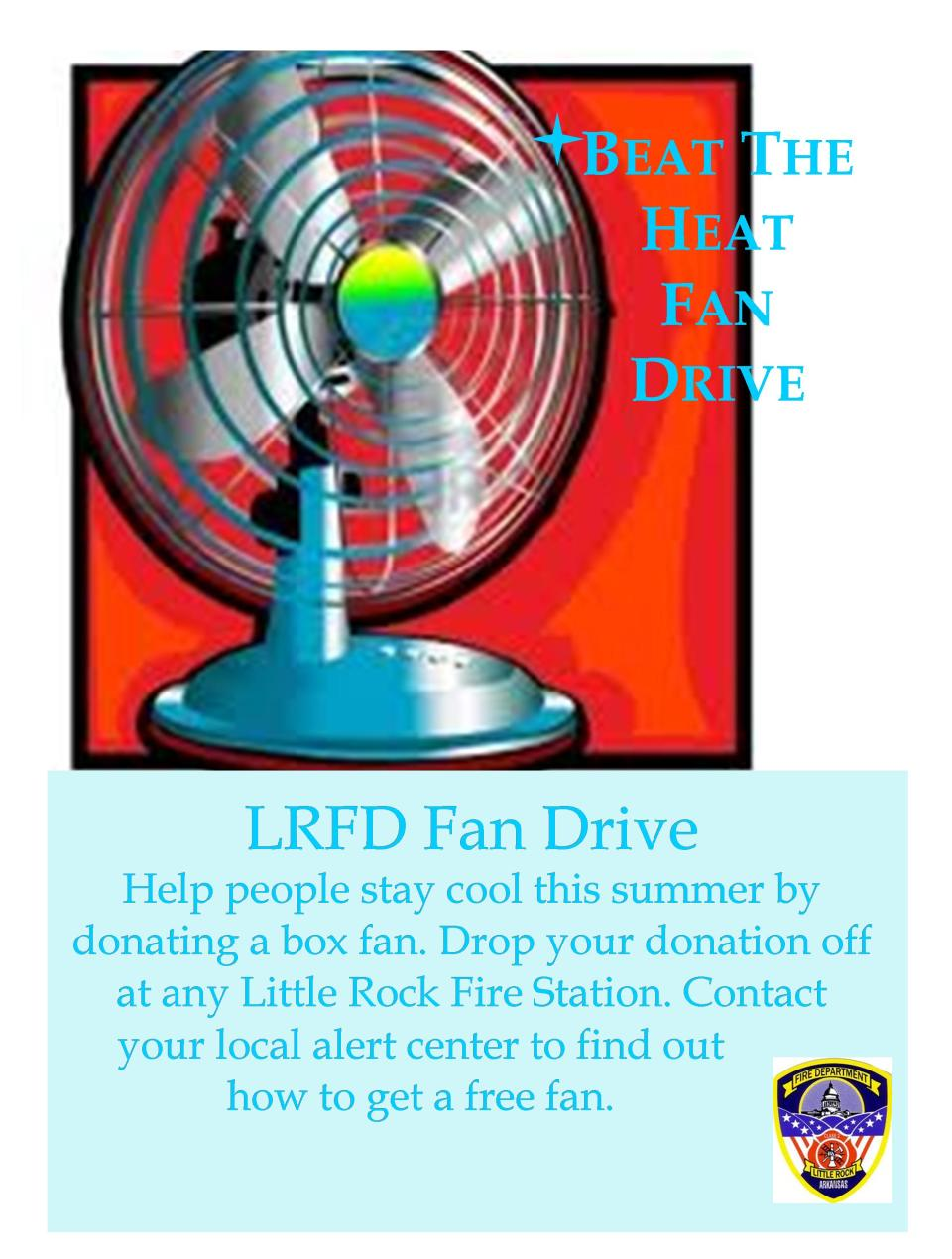 Beat the Heat Fan Drive Flyer