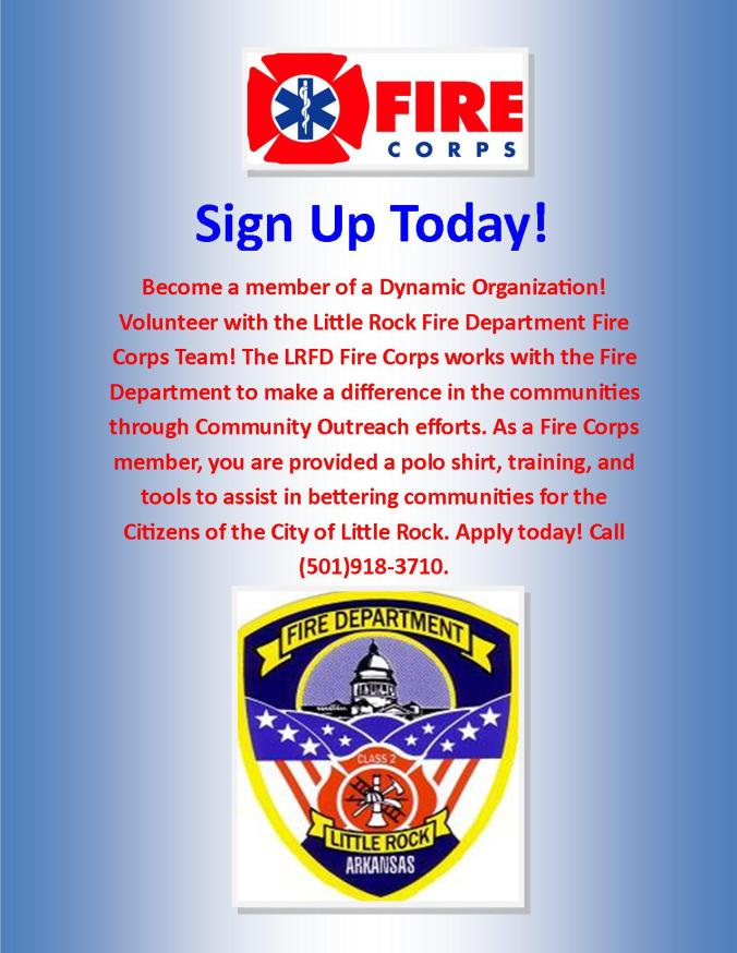 Fire Corps Flyer