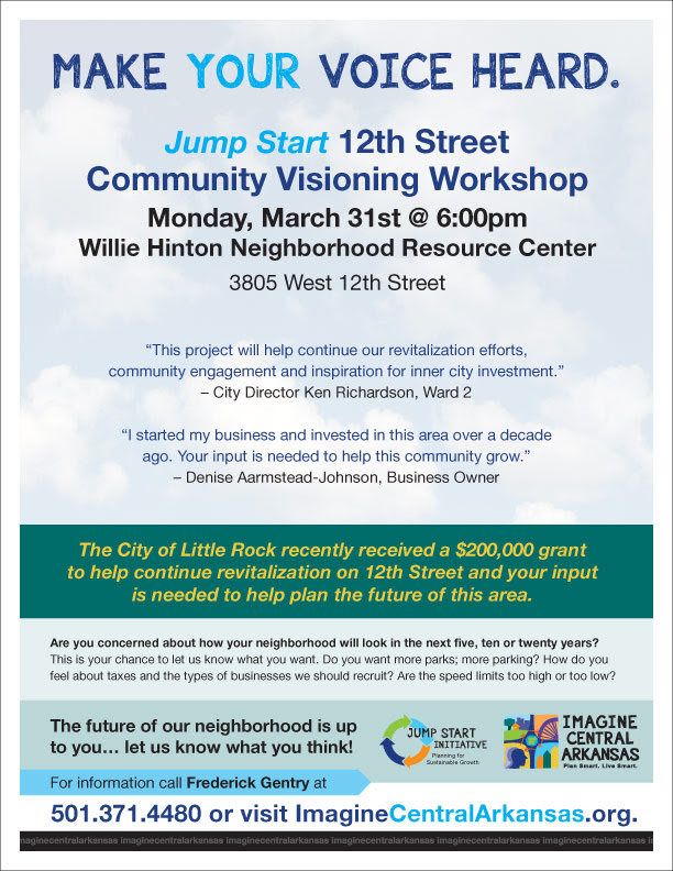 12th Street Meeting Today at 6:30 p.m.