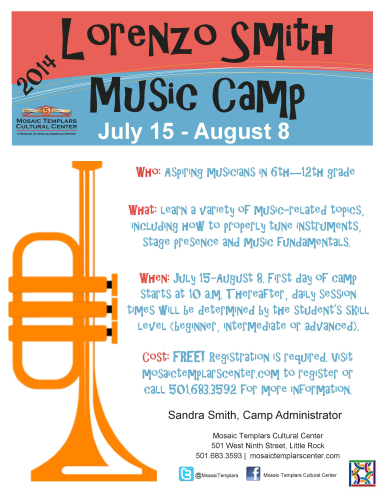 Lorenzo Smith Band Camp