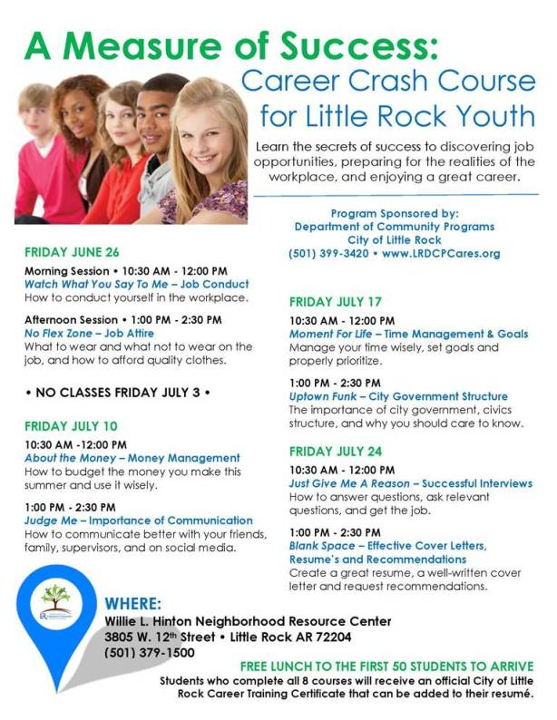 Youth Career Classes